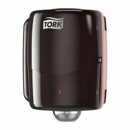 Мыльницы, стаканы и дозаторы - Макси Диспенсер с съемной втулкой TORK Performance W2 для материалов в рулоне, 0