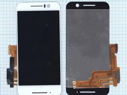 Дисплеи и тачскрины - Модуль (матрица + тачскрин) для HTC One S9 белый, 0