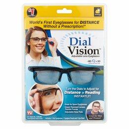 Аксессуары и запчасти - Очки с регулировкой линз Dial Vision -6 до +3, 0