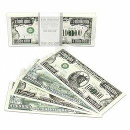 Сопутствующие товары - Шуточные деньги Миленд 1000000 долларов с европодвесом арт.ПП9-51-0001, 0