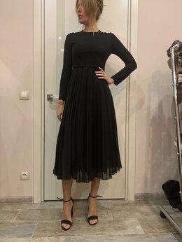 Платья - Платье вечернее чёрное макси, 0