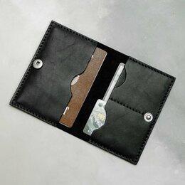 Обложки для документов - Обложка для паспорта из кожи. Ручной шов, 0
