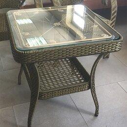 Столы и столики - Стол журнальный искусственный ротанг, 0