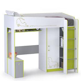 Кровати - Кровать-чердак Альфа 11.20 цвет лайм…, 0