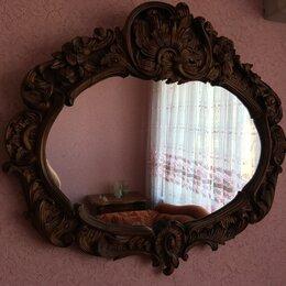 Зеркала - Зеркало в деревянной раме., 0