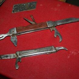 Ножи и мультитулы - Складной нож туриста советский, 0