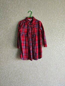 Платья и сарафаны - Платье-рубашка для девочки, 0