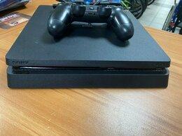 Игровые приставки - Игровая приставка Sony PS4 Slim (500Gb) б/у, 0