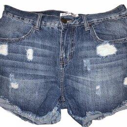 Шорты - Шорты синие Gloria jeans, р.42. Как новые, 0