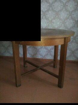Столы и столики - Стол круглый с раздвижной крышкой, 0