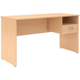 Компьютерные и письменные столы - Стол письменный с навесной тумбой Skyland…, 0
