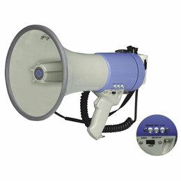 Микрофоны - SHOW ER66SDR Мегафон ручной, 25 Вт, сирена/запись, 0