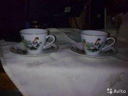 Кружки, блюдца и пары - Две коллекционные кофейные пары. Ст.Китай, 0