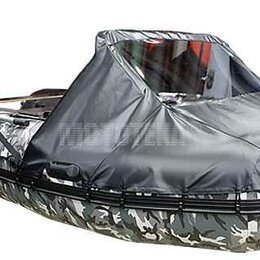Аксессуары и комплектующие - Носовой тент для лодки Хантер 350 ПРО, 0
