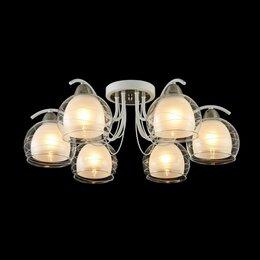 Люстры и потолочные светильники - FR5052-CL-06-W Потолочная люстра Freya Nikk, 0