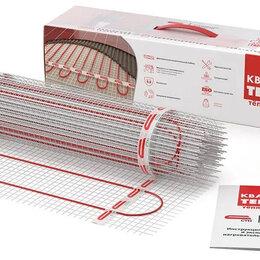 """Электрический теплый пол и терморегуляторы - Тонкий нагревательный мат """"Квадрат тепла"""" на 12 кв. метров под плитку, 0"""