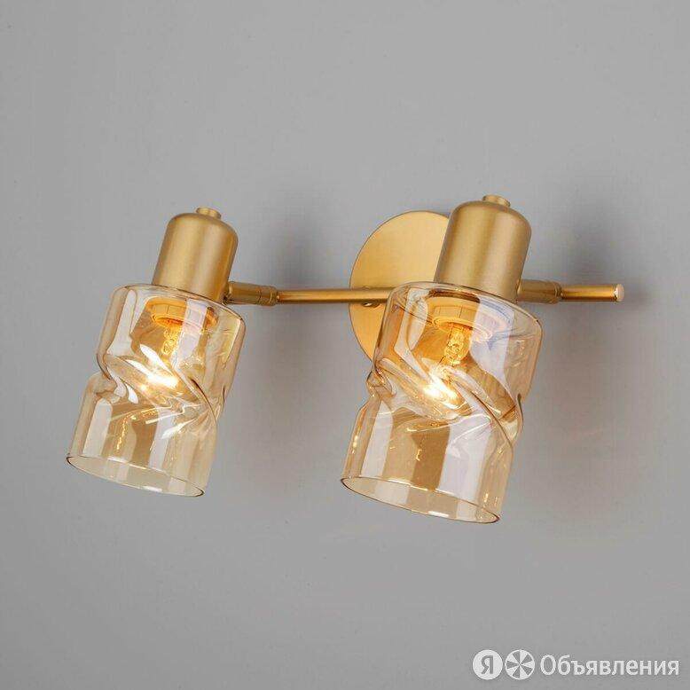 Спот Eurosvet Ansa 20120/2 перламутровое золото по цене 4570₽ - Споты и трек-системы, фото 0