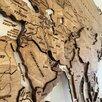 Карта мира на стену, карта мира из дерева  по цене 19500₽ - Гравюры, литографии, карты, фото 3