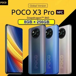 Мобильные телефоны - Xiaomi Poco X3 PRO 8GB+256GB НОВЫЙ в пленке, 0