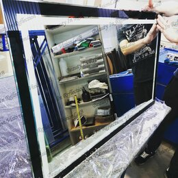 Зеркала - Зеркало с подсветкой , серия ReflectionColor,бесплатная доставка., 0
