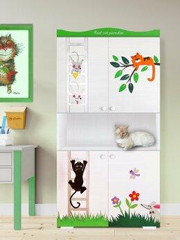 Хранение игрушек - Детский шкаф для игрушек и книг, 0