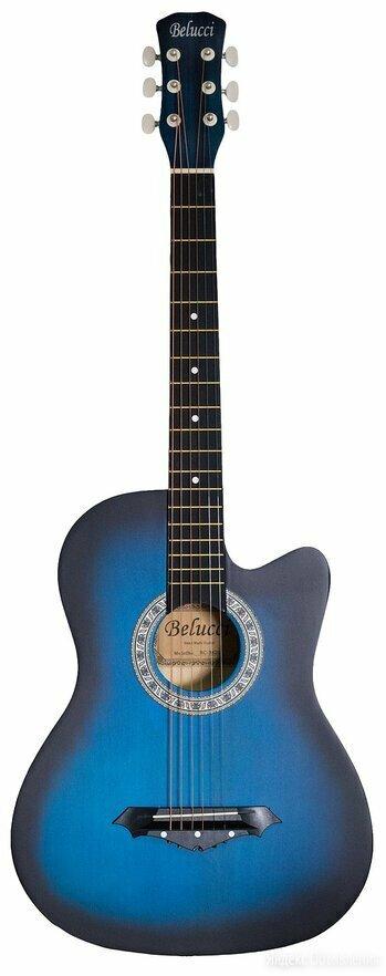 Гитара Belucci BC3820 BLS по цене 14799₽ - Акустические и классические гитары, фото 0