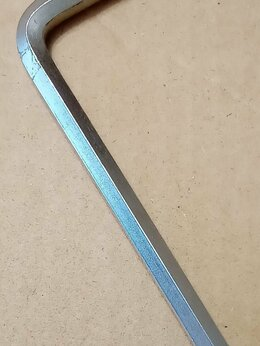 Рожковые, накидные, комбинированные ключи - Ключ шестигранный Шестигранник 6мм 95х35мм, 0