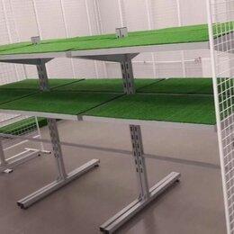 Витрины -  готовые модели торгового оборудования !сетчатый модуль***стелаж островной, 0