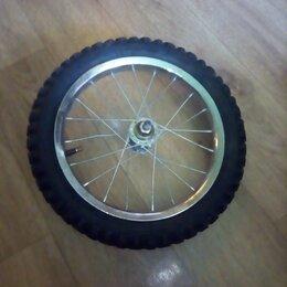 Обода и велосипедные колёса в сборе - Колесо 14 на детский велосипед, 0