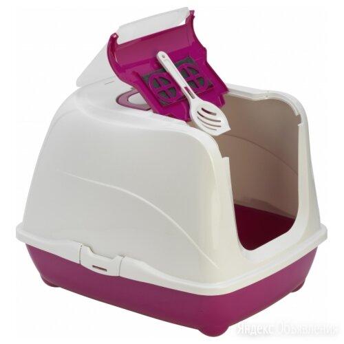 Moderna Flip Cat (50x39x37h см) Розовый Био-туалет с совком для кошек по цене 1623₽ - Туалеты и аксессуары , фото 0