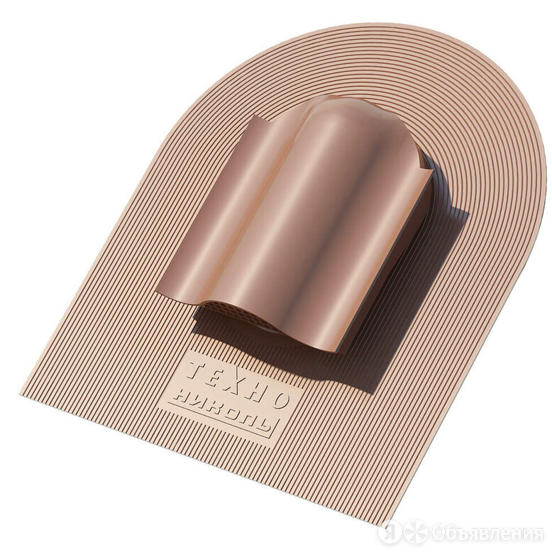 Аэратор КТВ ТехноНИКОЛЬ, коричневый по цене 2282₽ - Вентиляция, фото 0