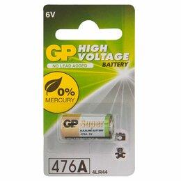 Батарейки - Батарейка GP 4LR44 (476AF. A544. V4034PX. PX28A) 6V алкалиновая 476AFRA-2C1, 0