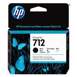 Картриджи - Картридж струйный HP 712 3ED71A черный оригинальный, 0