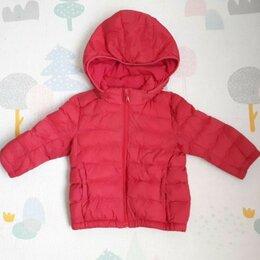 Куртки и пуховики - Демисезонная детская куртка Uniqlo, 80, 0