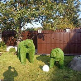 Садовые фигуры и цветочницы - Фигуры из проволоки, 0