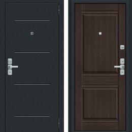 Входные двери - Входная дверь Нео Муар антрацит Wenge Veralinga, 0