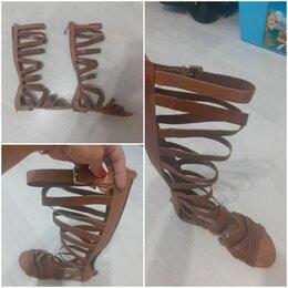 Сандалии - Летние сандали натуральная кожа, 0