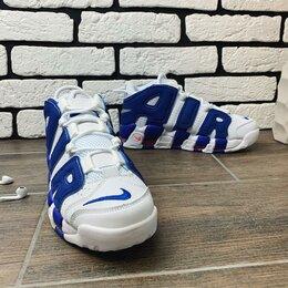 Кроссовки и кеды - Кроссовки Nike more uptempo blue, 0