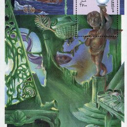 Марки - 86-я годовщина крушения Титаника. Сомали 1998 г., 0