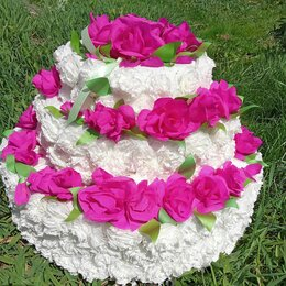 Свадебные украшения - Пиньята Свадебный Торт или семейный банк, 0