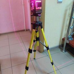 Измерительные инструменты и приборы - Лазерный уровень 360 на штативе, 0