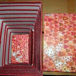 Коляски - Набор 10 подарочных коробок бантик и сердца, 0