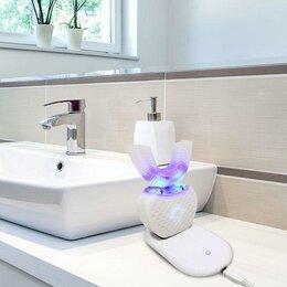 Электрические зубные щетки - Автоматическая звуковая электрическая зубная щетка, 1-е поколение, белый, 0
