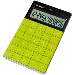 Калькуляторы - BERLINGO Калькулятор Berlingo Power TX 12 разр., зеленый, 0