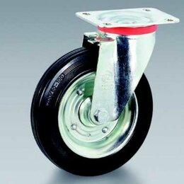 Оборудование для транспортировки - Колесо промышленное поворотное SC55 ф 125 мм , 0