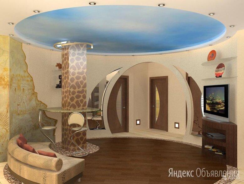 Натяжной потолок по цене 100₽ - Потолки и комплектующие, фото 0