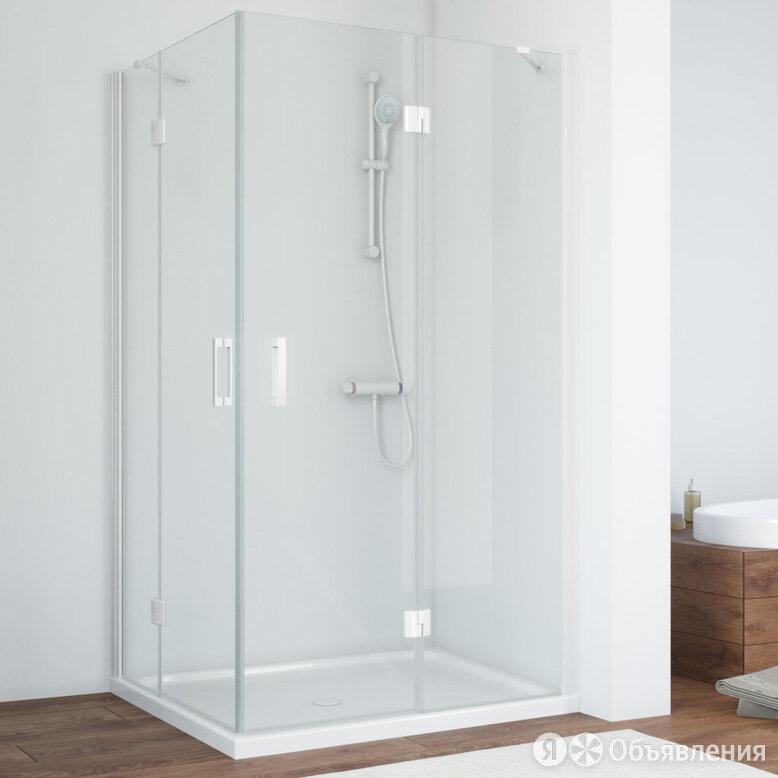 Душевой уголок Vegas Glass AFA-F 100*90 01 01 R профиль белый, стекло прозрачное по цене 43380₽ - Души и душевые кабины, фото 0