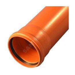 Канализационные трубы и фитинги - Труба НПВХ SN4 110*3,2*3000 НК, 0