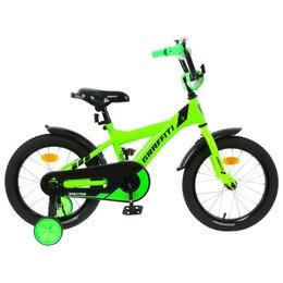 """Велосипеды - Велосипед 16"""" Graffiti Spector, цвет неоновый зелёный   5267473, 0"""