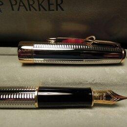 Письменные и чертежные принадлежности - PARKER SONNET, серебро и 18к золото. Ручка перьевая, 0